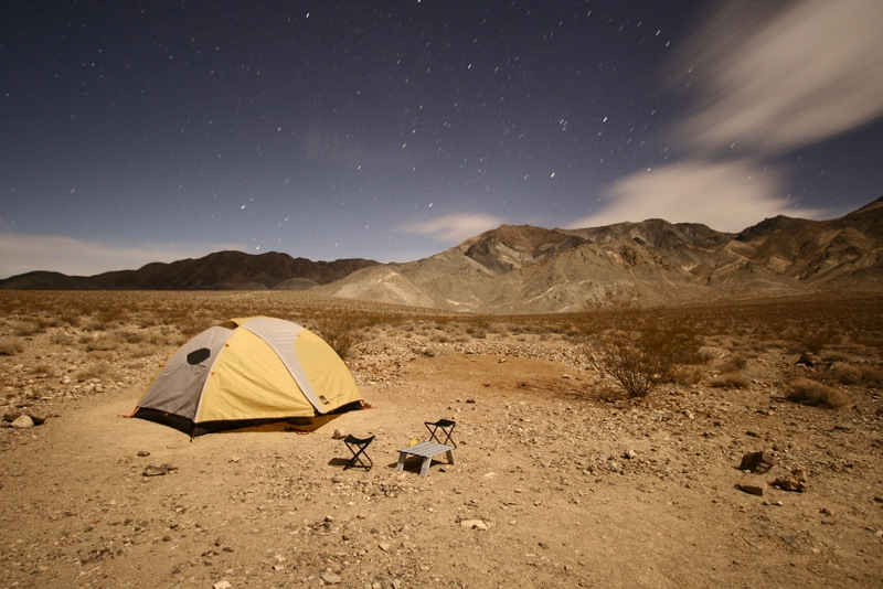 Campsite at Homestake Dry Camp | Death Valley | 2008